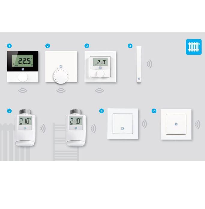 Gudrā māja – radiatoru apkures bezvadu vadība